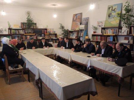 Выездное заседание в Ленинауле противодействию экстремизму и терроризму