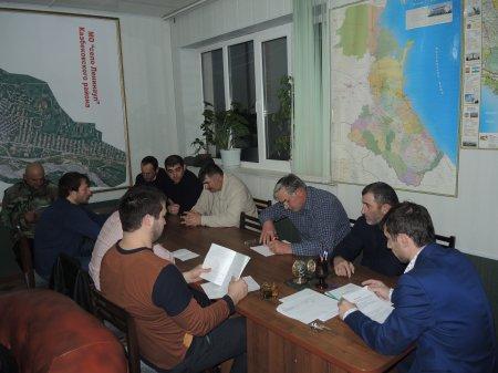 Очередная сессия сельского Собрания депутатов