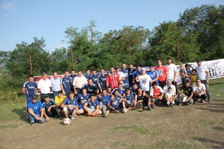 В Казбековском районе разыграли кубок администрации МР по футболу
