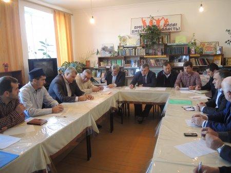 В селении Ленинаул состоялось выездное заседание  АТК в МР «Казбековский район»
