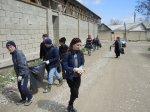 В сельском поселении « село Ленинаул»  прошёл субботник.