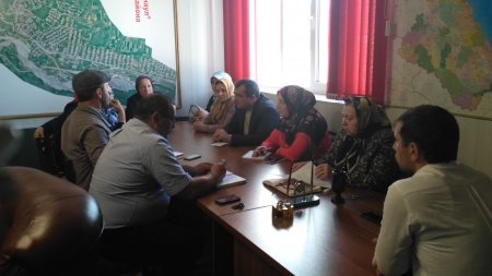 Аппаратное совещание администрации  СП « село Ленинаул»