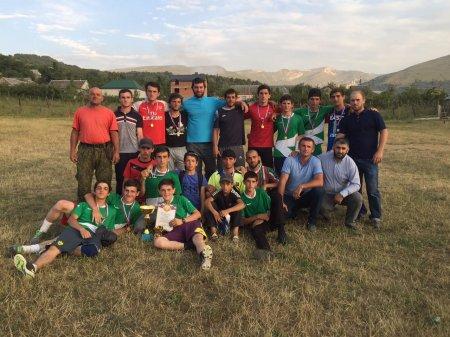 Состоялся турнир по футболу памяти Шапиева Имама Камиловича.