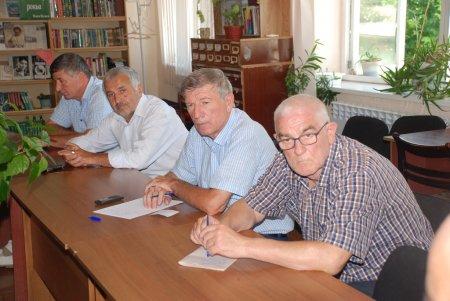 Совместное заседание  Совета общественной палаты и старейшин  Казбековского района