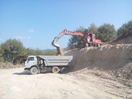Ремонтные работы по селу
