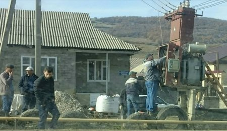 Были неполадки с трансформатором на улице А.Магомедова
