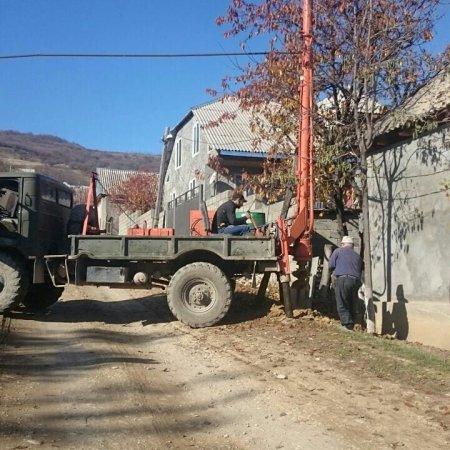 Подготовительные работы для установки столбов