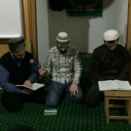 Сегодня в мечети села прошёл мавлид