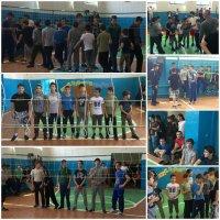 Первенство села по волейболу среди юношей