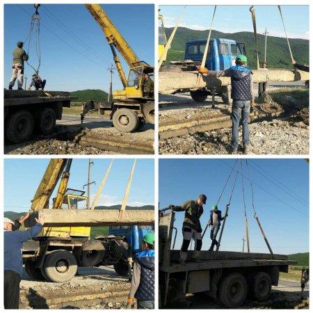 Произведён ремонт въезда на ул.Ильясова.