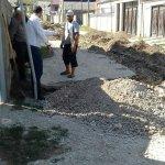 Завершили работу по проведению нового водопровода по улице Солнечная