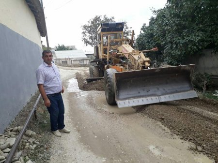 Проведены ремонтные работы по ул. Муса Давурбегова, спуск ПМК, дорогу мусорный полигон.