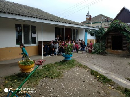 Учебно – тренировочная эвакуация воспитанников и сотрудников МКДОУ «Детский сад «Чебурашка» с.Ленинаул.
