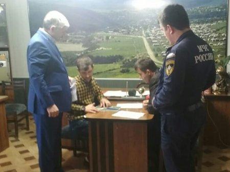 Произвели обследование русла р. Акташ в пределах с.Ленинаул