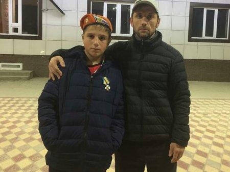 Встретили нашего героя Адама Арсанмирзаева