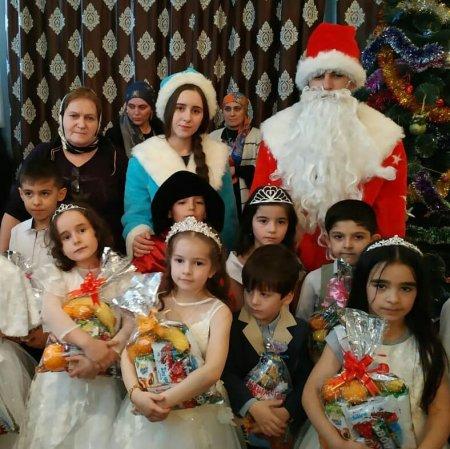 Новогодние утренники в образовательных учреждениях с.Ленинаул