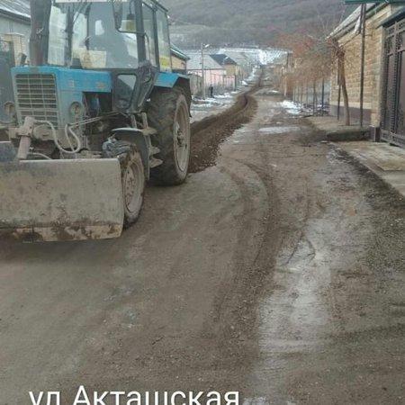 Подключение водопровода по улице Акташская
