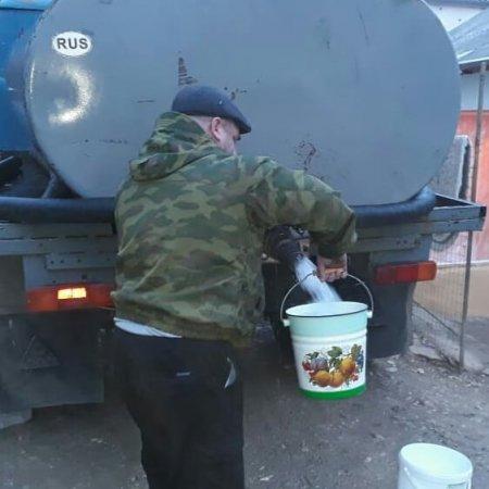 Краткий обзор работы в селении Ленинаул Казбековского района на утро 17 января.