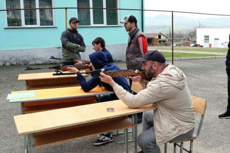25 апреля состоялось закрытие зимнего фестиваля ГТО в Казбековском районе