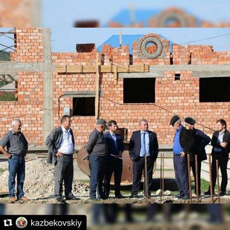 Проверка строительства школы с.Ленинаул