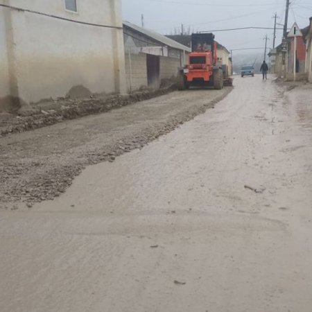Частичный ремонт улицы