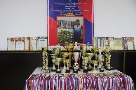 Турнир по настольному теннису в честь Магомеда Висалгереева