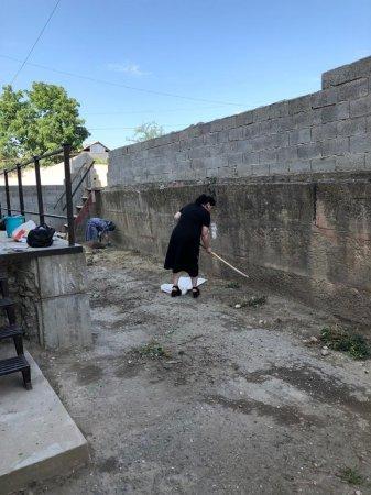 Сегодня,т.е. 13 июля 2020 г. на территории сельского поселения Ленинаул , был организован субботник по очистке территории от мусора.